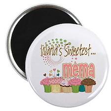 World's Sweetest Mema Magnet