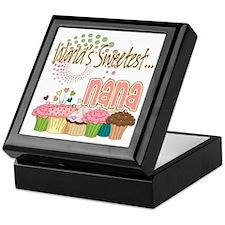 World's Sweetest Nana Keepsake Box