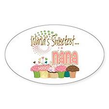 World's Sweetest Nana Decal