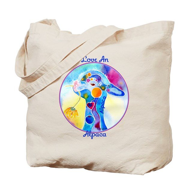 Love An Alpaca T Shirt Tote Bag By Whimzicals