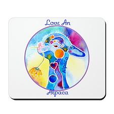 Love an Alpaca T Shirt Mousepad