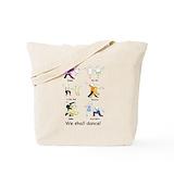 Dancing Canvas Bags