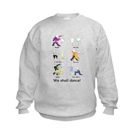 Ballroom Dancers Kids Sweatshirt