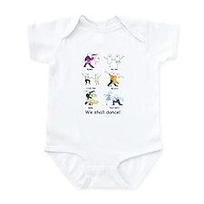 Ballroom Dancers Infant Bodysuit