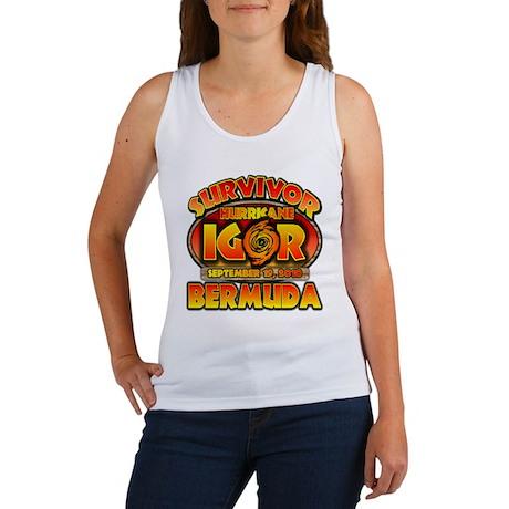 I Survived Hurricane Igor Women's Tank Top