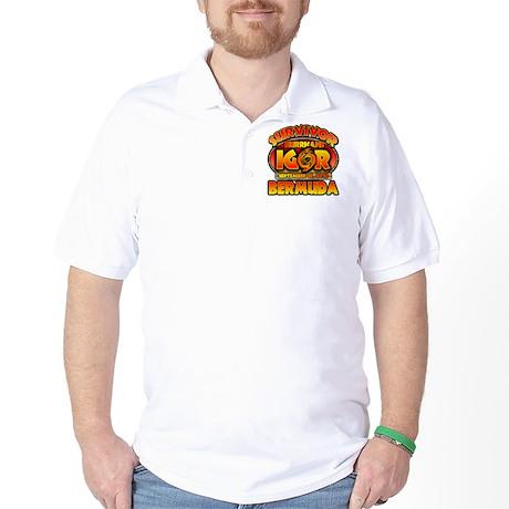 I Survived Hurricane Igor Golf Shirt