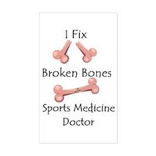 Sports Medicine Decal