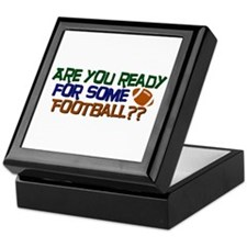 Football Season Keepsake Box
