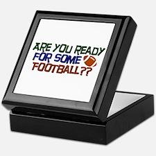 Football Season Keepsake Box
