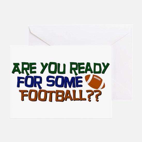 Football Season Greeting Card