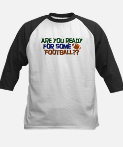 Football Season Kids Baseball Jersey