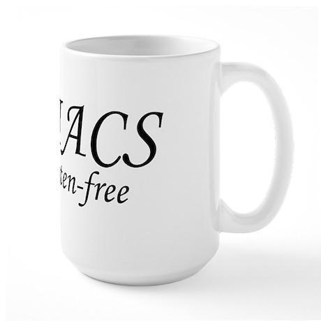 CELIACS do it gluten-free Large Mug