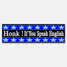 Honk If You Speak English