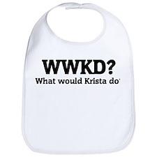 What would Krista do? Bib