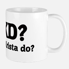 What would Krista do? Mug