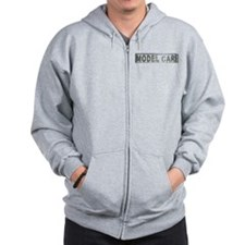 Model Car Builder Zip Hoodie