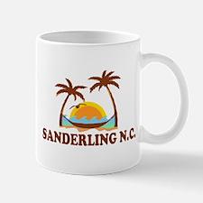 Sanderling NC - Palm Trees Design Mug