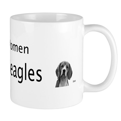 Real Women Train Beagles Mug