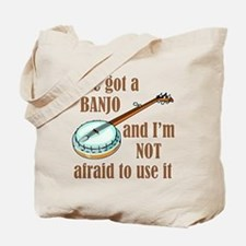 I've Got a Banjo Tote Bag