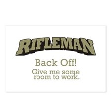 Rifleman - Back Off Postcards (Package of 8)