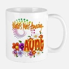 World's Amazing Aunt Mug