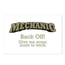 Mechanic - Back Off Postcards (Package of 8)