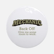 Mechanic - Back Off Ornament (Round)