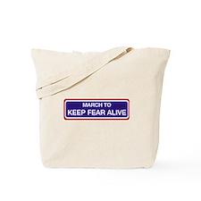 Rally restore sanity Tote Bag