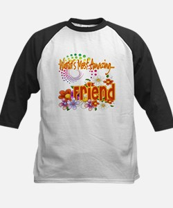 Most Amazing Friend Kids Baseball Jersey