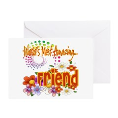 Most Amazing Friend Greeting Card