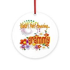 Most Amazing Grammy Ornament (Round)