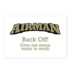 Airman - Back Off Postcards (Package of 8)