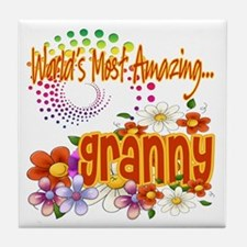 Most Amazing Granny Tile Coaster