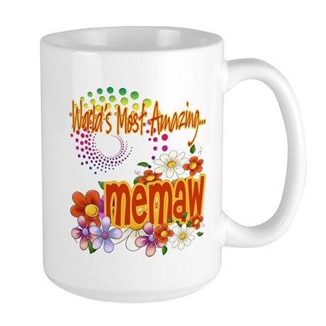 Most Amazing Memaw Large Mug