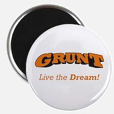 "Grunt - LTD 2.25"" Magnet (10 pack)"
