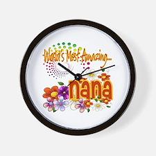 Most Amazing Nana Wall Clock