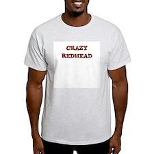 CRAZY REDHEAD Ash Grey T-Shirt