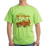 Most Amazing Sister Green T-Shirt