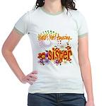 Most Amazing Sister Jr. Ringer T-Shirt