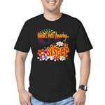Most Amazing Sister Men's Fitted T-Shirt (dark)