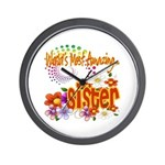 Most Amazing Sister Wall Clock