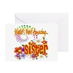 Most Amazing Sister Greeting Card
