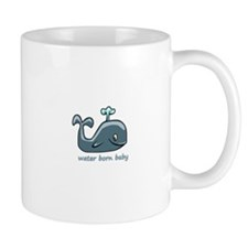 Water Born Baby (Whale) Mug
