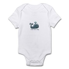 Water Born Baby (Whale) Infant Bodysuit