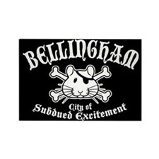 Bellingham Pirate 2 Rectangle Magnet