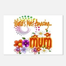 Most Amazing Mum Postcards (Package of 8)
