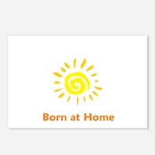 Born at Home Sun Postcards (Package of 8)
