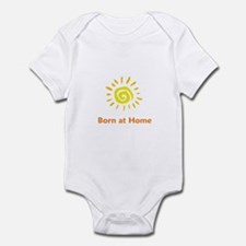 Born at Home Sun Infant Bodysuit