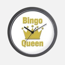 Bingo Queen Wall Clock