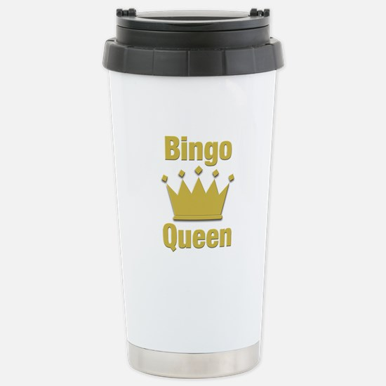 Bingo Queen Stainless Steel Travel Mug